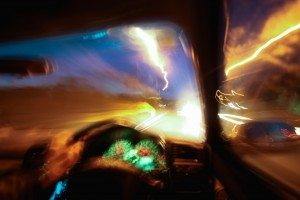 Driving Car Dangerously At Night Due To Drinking, Speeding Or Be