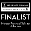 ILA 2017 Finalist MPUs_Munster Provincial Solicitor of the Year